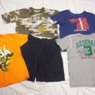 BOYS 7-8 LOT GAP SHORTS & 4 T-SHIRTS ALL IN GOOD COND!