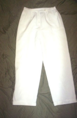 WOMENS 12 NORTON MCNAUGHTON WHITE DRESS PANTS IN EUC