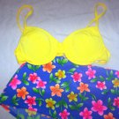 WOMENS 12-14 SWIMSUIT BY BALTEX BOY SHORTS & BIKINI TOP