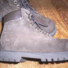 TODDLER BOYS 11 TIMBERLAND DARK BROWN SUEDE BOOTS MINT CONDITION CUTE 4 FALL!