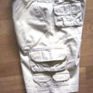 BOY 7X KHAKI CARGO SHORTS WORN 1X BACK TO SCHOOL IN EUC