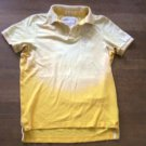 ABERCROMBIE SHIRT MENS MEDIUM OR BOYS XL MUSCLE FIT POLO YELLOW IN EUC!