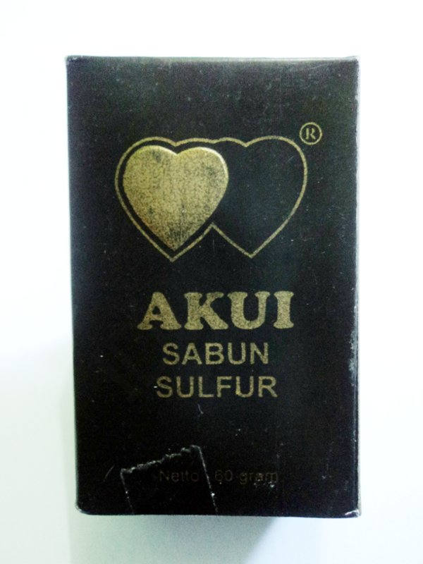 Jamu Herbal Soap Sulfur Akui For Removes Itches In The Groin
