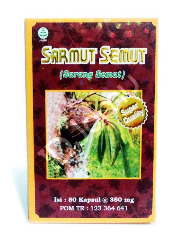 80 Capsules Herbal Extract Sarmut Semut Ant Nest Myrmecodia Pendans