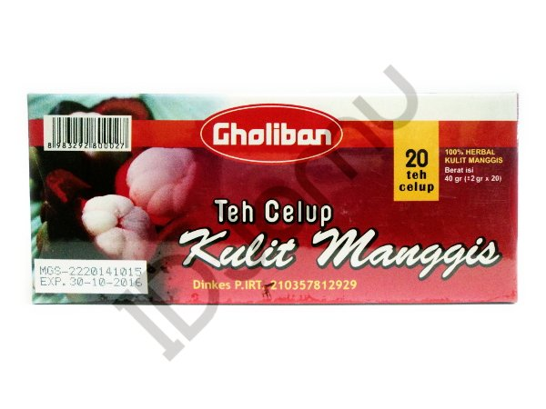 Mangosteen Rind/Pericarp Tea 20 Teabags 100% Herbal Garcinia Mangostana Xanthone
