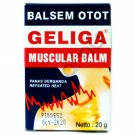 Geliga Muscular Balm Muscle Pain Relief Repeated Heat (Balsem Otot Geliga) 20g