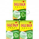 3 Pcs of Eagle Balm Muscle Pain Relief (Balsem Cap Lang) 20 gram