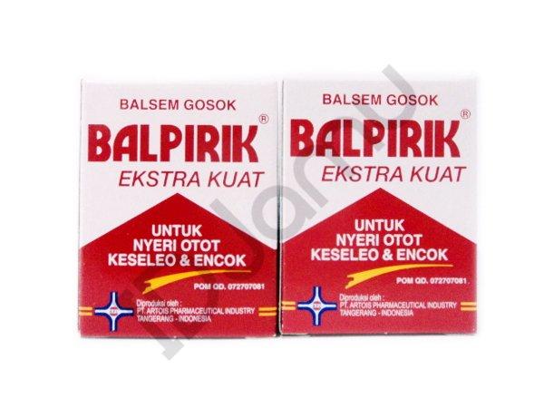 2 Pcs of Balpirik Balsem Balsam Balm Extra Strong 20 Gram Muscular Pain