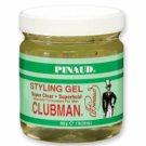 Clubman Styling Gel Super Clear, Super Hold, 16 oz