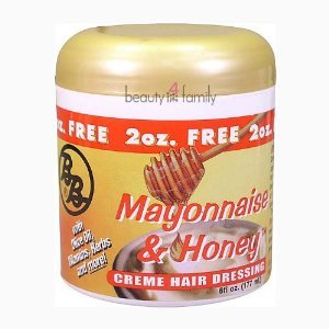 Bronner Bros Mayonnaise & Honey Creme Hair Dressing