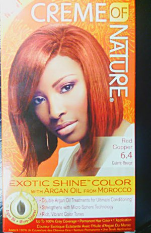 Creme of Nature Red Copper 6.4 Exotic Shine Color