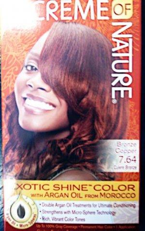Creme of Nature Bronze Copper 7.64 Exotic Shine Color