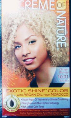 Creme of Nature Ginger Blonde 10.01 Exotic shine