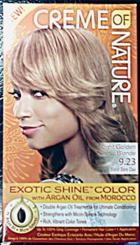 Creme of Nature Light Golden Blonde 9.23 Exotic Shine Color