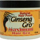 Hair Vite Ginseng Gro Maximum Hair Gro 4 oz