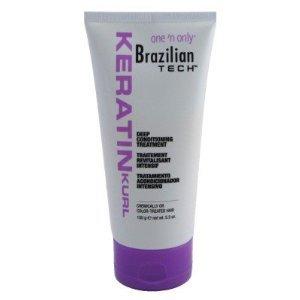 One 'n Only Brazilian Tech Keratin Kurl Deep Conditioning Treatment  5.3 oz