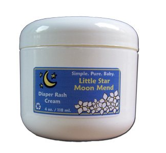 All Natural Baby Diaper Rash Cream- 4 fl. oz.