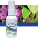 Sore Throat & Laryngitis Reliever -2 oz.