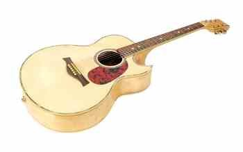 NEW Solid Maple Wood Acoustic Electric Guitar