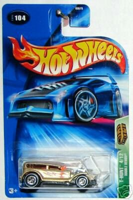 2004 Hotwheels TH 4/12 DOUBLE DEMON