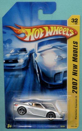 2007 Hotwheels FE 32/36 PORSCHE CAYMAN