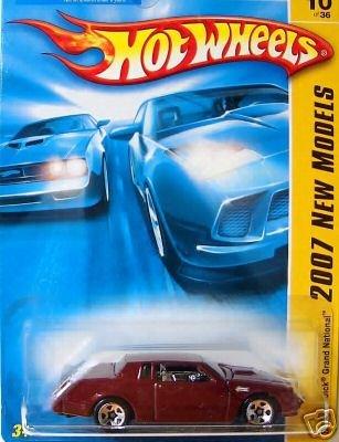 2007 Hotwheels FE 10/36 MAROON Buick Grand National