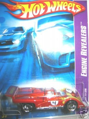 2007 Hotwheels Ferrari 512    #1 OF 4