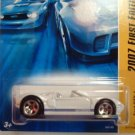 2007 Hotwheels FE #17 of 36 FORD GTX-1 WHITE