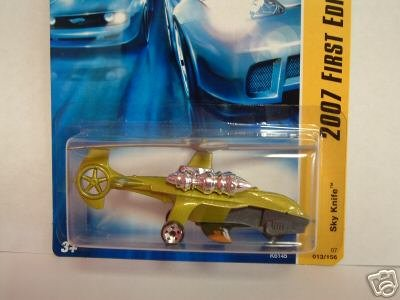 2007 Hotwheels NEW SKYKNIFE #13/36