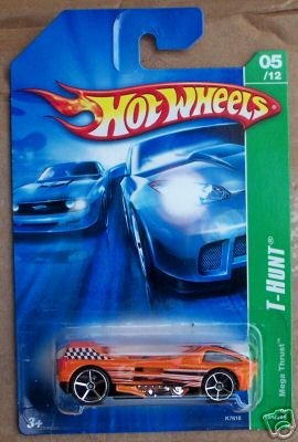 2007 Hotwheels TH #5/12 MEGA THRUST