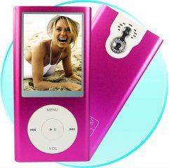 Next Generation 4GB MP4 Player Digital Camera - 2.4 Inch Screen [CVAAL-M200-4]