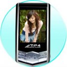 Cool Design MP4 Player - 4GB - 1.8 Inch Screen  [CVAAL-A25-4G]