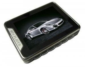 2.4-inch Screen 4GB MP4 Player, Mini SD Card Slot   [CVAAL-M109]