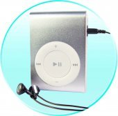 Clip MP3 Player 2GB  [CVAAL-B10-2GB]