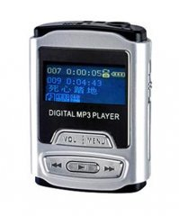 1GB MP3 Player - Small Size - FM Radio  [CVAAL-C6]