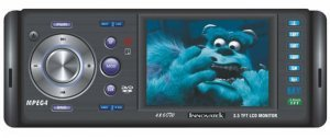 In-Dash Car DVD Player Stereo - 3.5 Inch Screen  [CVEJS-993]