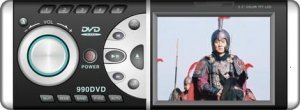 In-Dash Car DVD Player And TFT With USB And SD Slots + TV + FM  [CVEKM-990DVD]