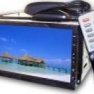 Car DVD Player + TV Tuner - In-Dash 2-DIN - 7 Inch Touch Screen  [CVEJY-701T]