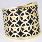 Brass Pentagram Cuff