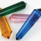 Double Terminated Glass Energy Crystal