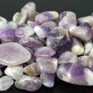 Amethyst tumbled stones 1lb  - Stone of Peace & Clarity