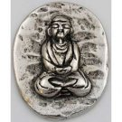 Buddha Pocket Stone - Pewter