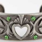 Celtic Clannagh Bracelet - Poetic design Pewter