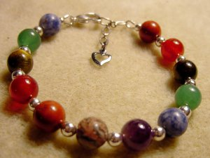 CHAKRA Bracelet - Balance your Energy Meridans - Healing Bracelet