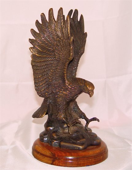 AMERICAN BALD EAGLE - SOLID BRASS