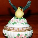 MUSICAL BIRD TRINKET JEWELRY BOX - Heritage House