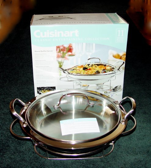 BUFFET SERVER FOOD WARMER- CUISINART