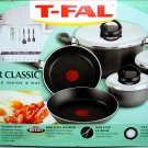 T-FAL NON-STICK with Vented Lid COOKWARE/BAKEWARE (8-pc. set) - (NIB)