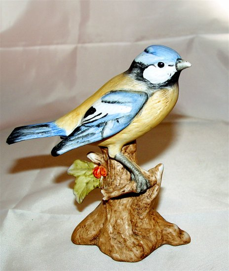 BLUE JAY - Porcelain - Hand Painted