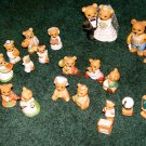 BEAR COLLECTION - HOMCO Porcelain - (23 pc. Lot)